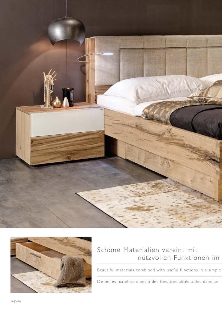 Folder Vpur  Catalogue  Furniture  Voglauer von Voglauer Bett V Pur Bild