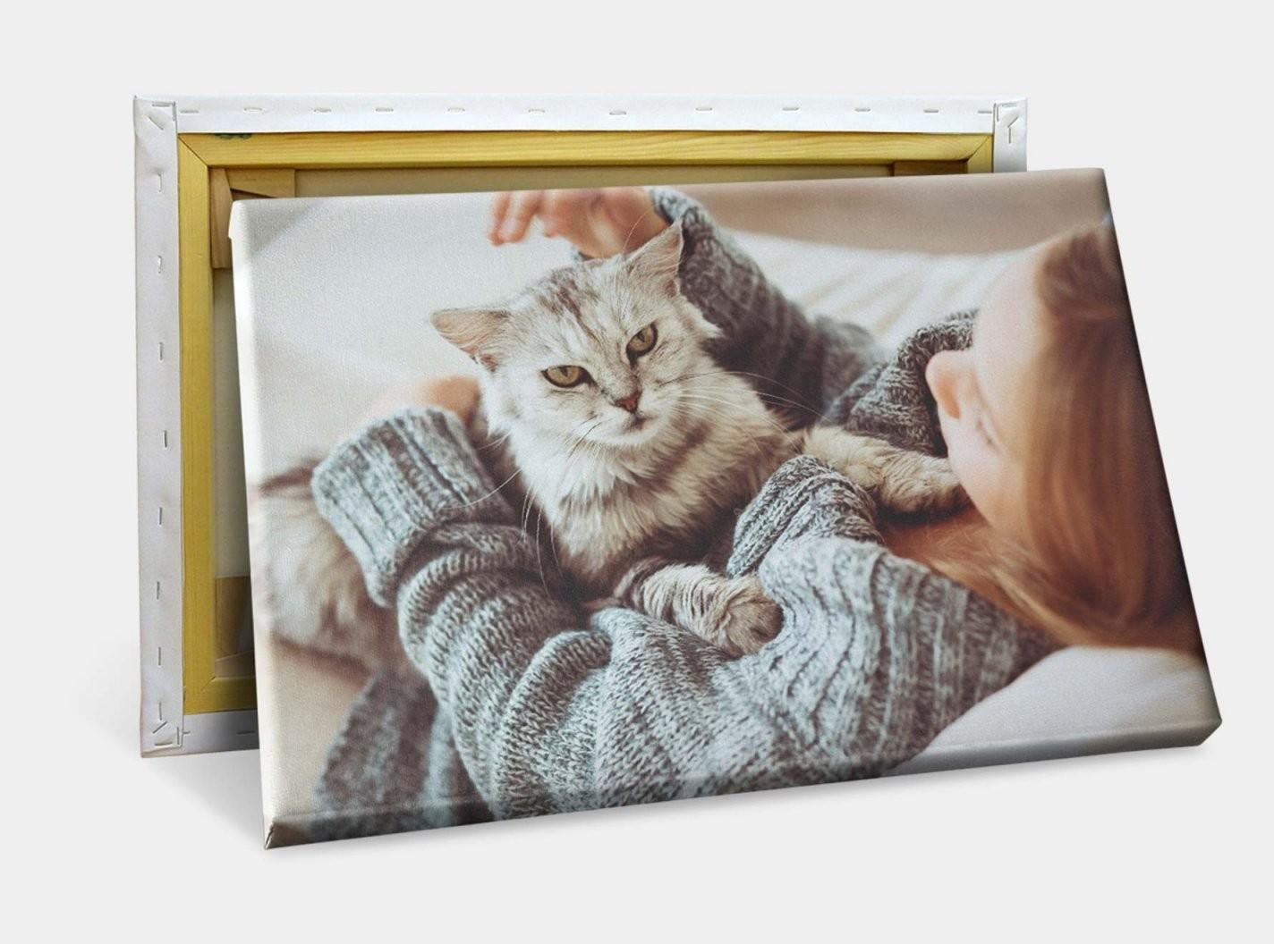 Foto Auf Leinwand Drucken Lassen  Wandbilder Auf Leinwand  Fotokasten von Leinwand Collage Erstellen Günstig Bild
