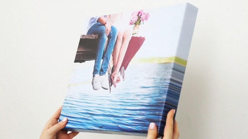Foto Auf Leinwand Vom Testsieger Ab 5€  Meinfoto Fotoleinwand von Leinwand Collagen Selbst Gestalten Bild