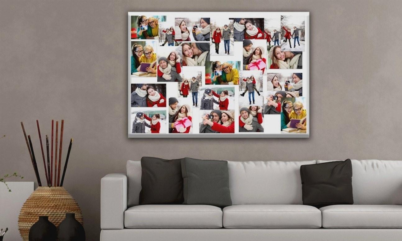 Fotocollage Auf Leinwand Selber Basteln Schön Fotocollage Selber von Leinwand Collage Selbst Gestalten Bild
