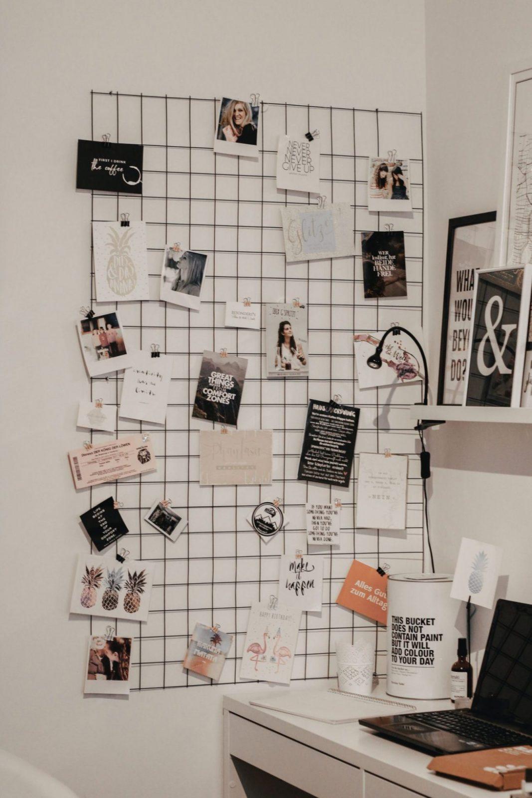 Fotogitter Selber Machen  Diy  Lifewithnathalie  Stuffs To von Zimmer Deko Ideen Selber Machen Photo