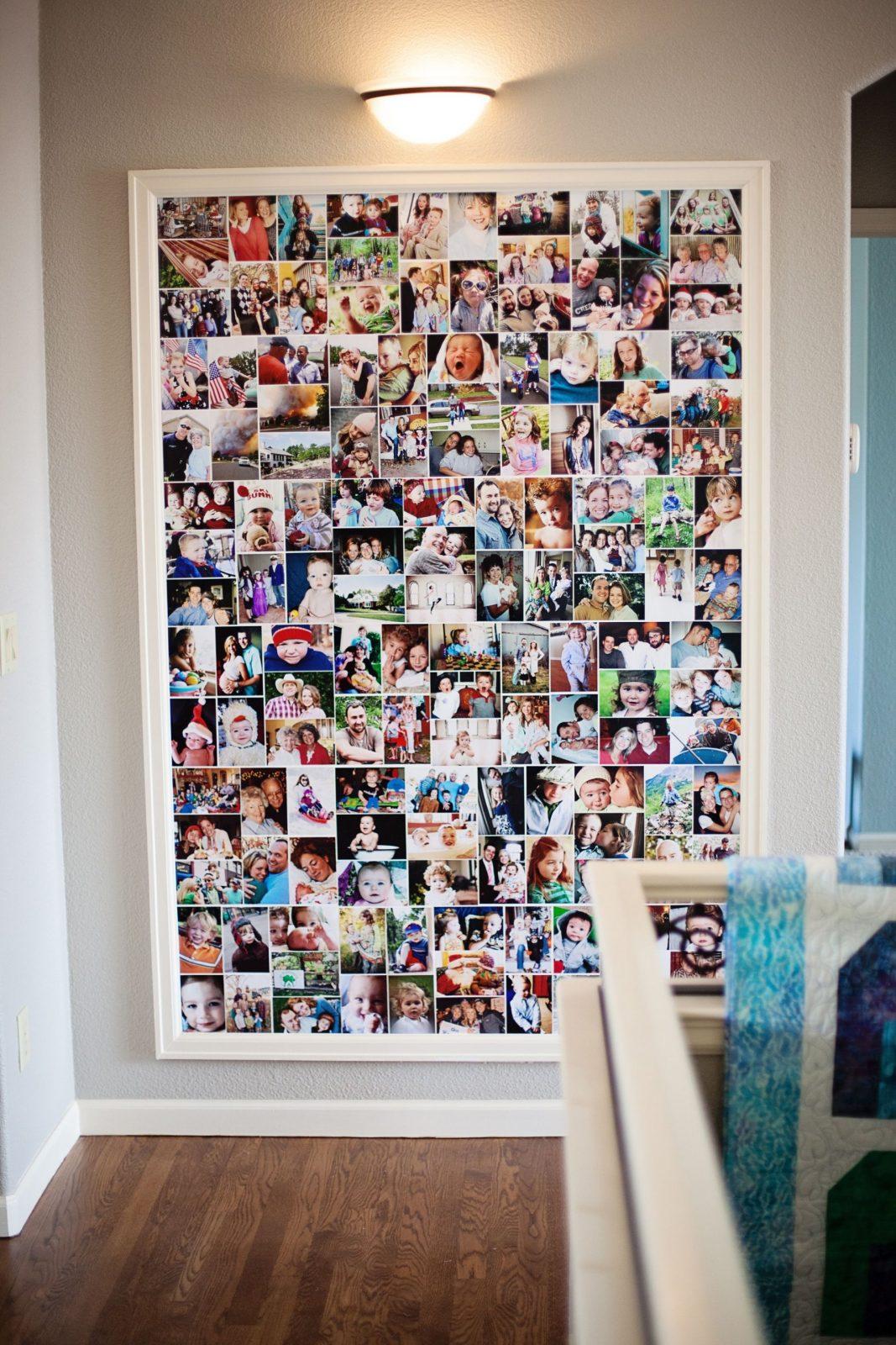 Fotos Fotocollage Im Riesenbilderrahmen Für Schöne Erinnerungen von Fotocollage Selber Machen Ideen Photo