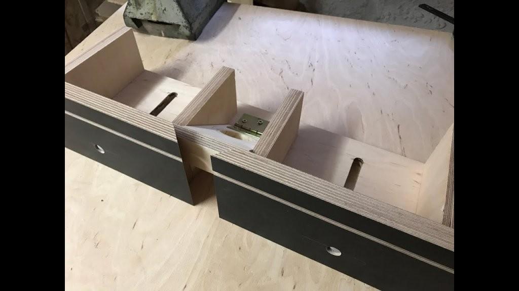 Frästisch Für Die Oberfräse Für Unter 30 Euro Selbst Bauen 12  Diy von Oberfräse Zubehör Selber Bauen Bild