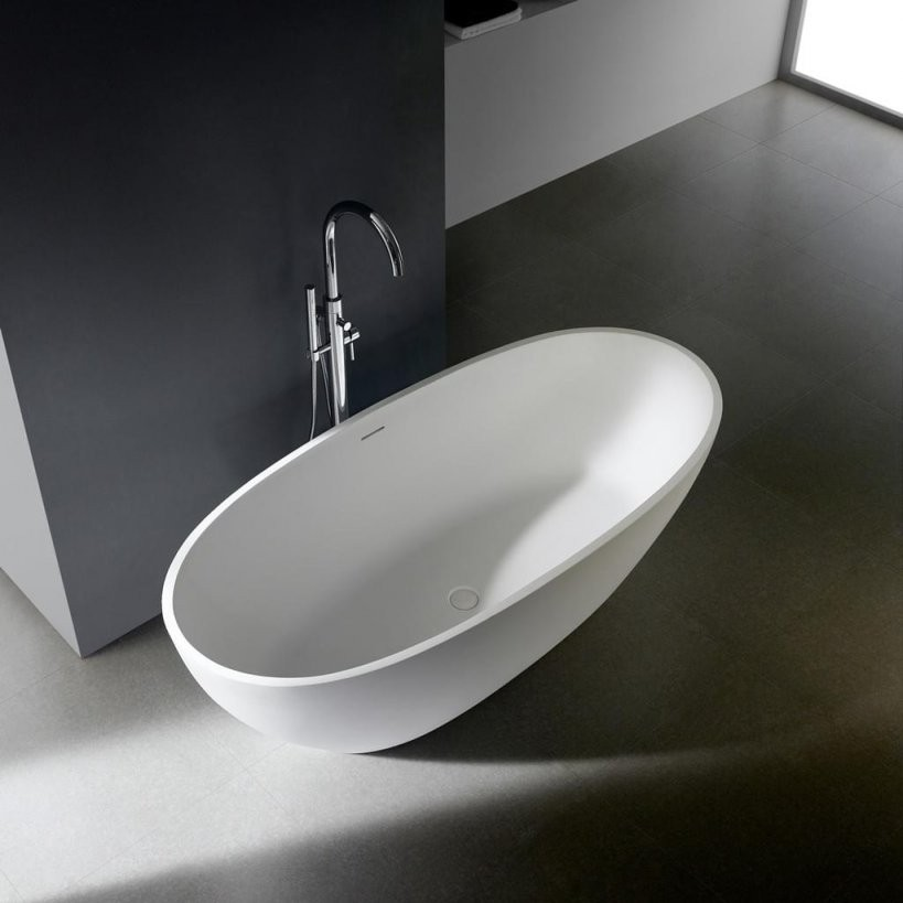 Freistehende Badewanne 'soho 20' 170 Cm   Real von Freistehende Badewanne Mineralguss Oder Acryl Bild