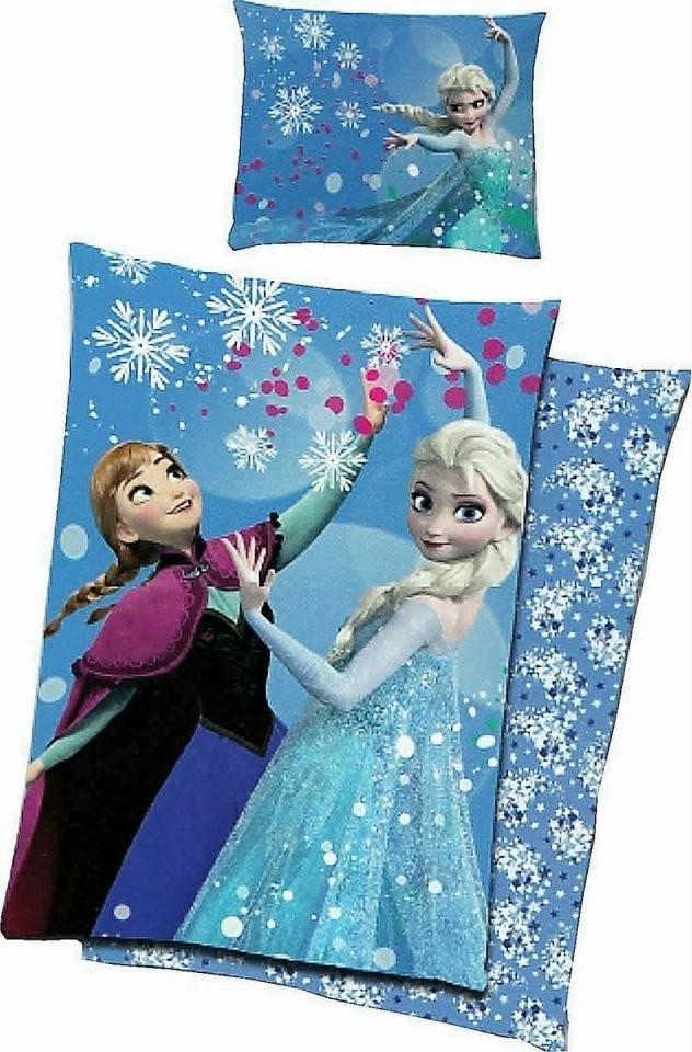 Frozen Renforcé Bettwäsche 135X200Cm 2 Tlg Elsa + Anna Die von Anna Und Elsa Bettwäsche Biber Bild