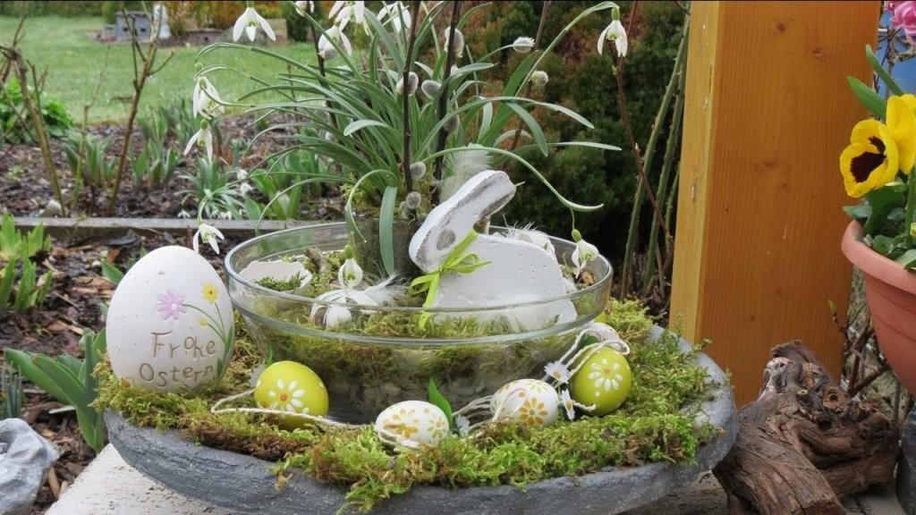 Frühling  Ostern Dekoration Selber Machen  Decoration Ideas von Deko Ideen Vor Der Haustür Frühling Bild