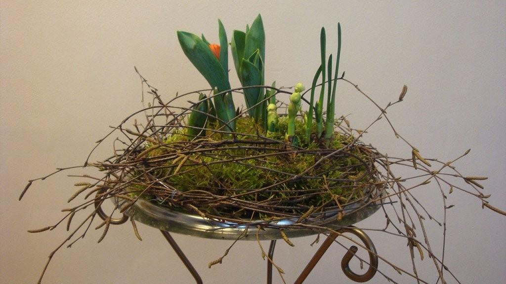 Frühlingsdeko Ideen Raumdekoration Mit Blumen ❁ Deko Ideen Mit von Deko Ideen Vor Der Haustür Frühling Bild