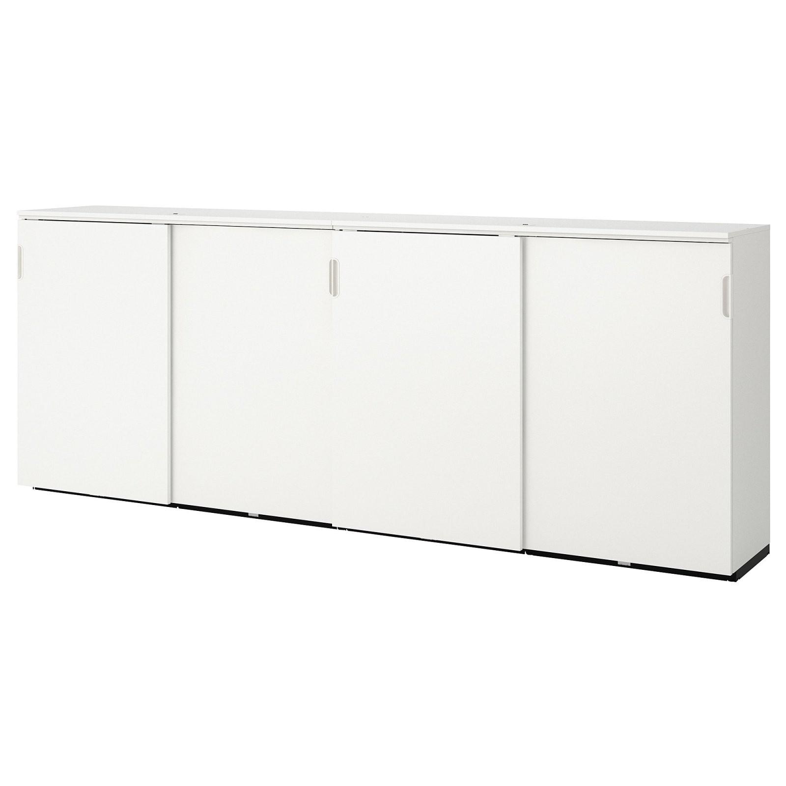 Galant Aufbewahrung Mit Schiebetüren  Weiß  Ikea von Sideboard Mit Schiebetüren Ikea Photo