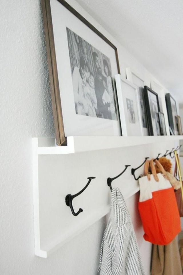 Garderobe Selber Bauen  Anleitung Und Inspirierende Ideen von Garderobenständer Holz Selber Bauen Bild