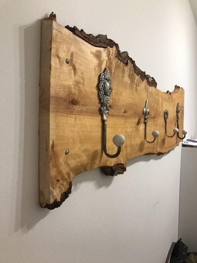 Garderobe Selber Bauen  Ideen Und Anleitungen Für Jeder Der Lust von Holz Garderobe Selber Machen Bild