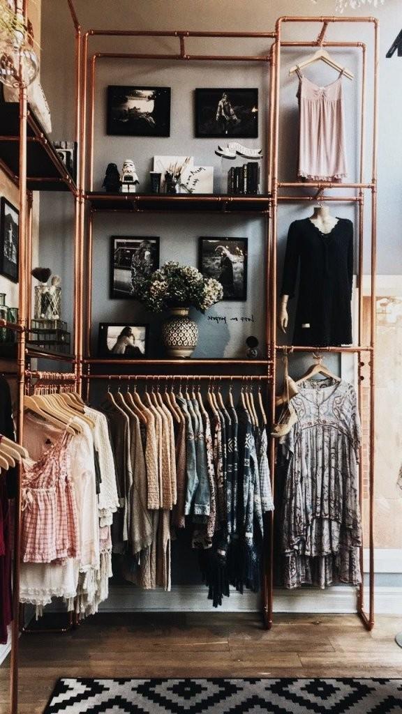 Garderobe Selber Bauen  Ideen Und Anleitungen Für Jeder Der Lust von Kleider Regal Selber Bauen Bild