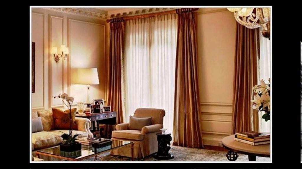 Gardinen Ideen Wohnzimmer Modern  Youtube von Gardinen Ideen Für Große Fenster Photo
