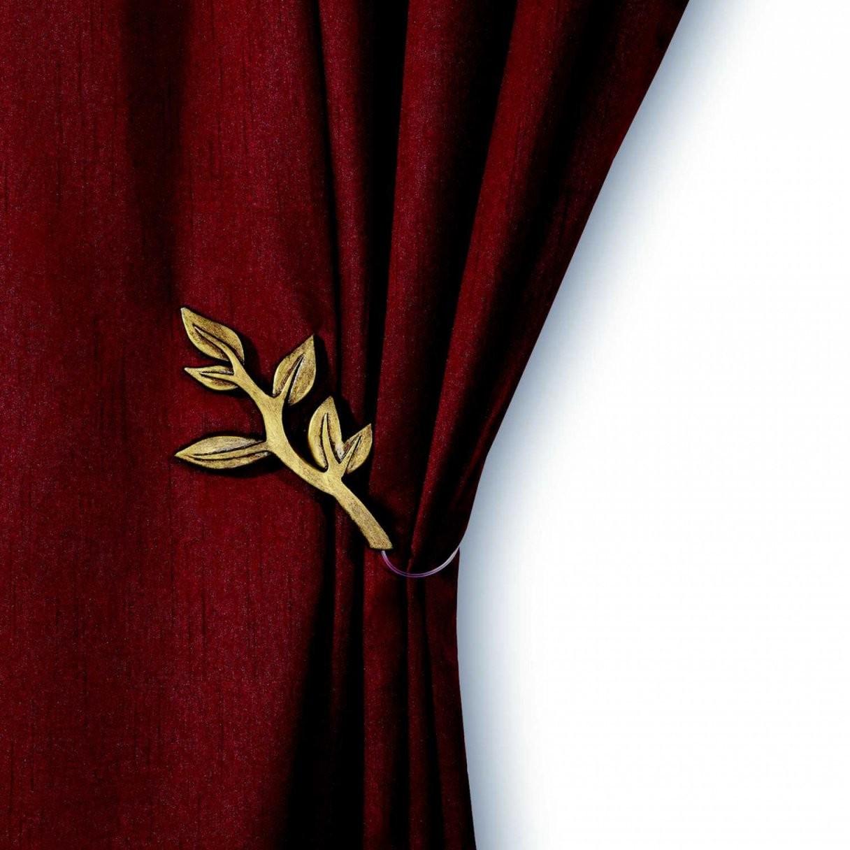 Gardinen Raffhalter Gold – Dekor von Gardinen Raffen Mit Magneten Bild