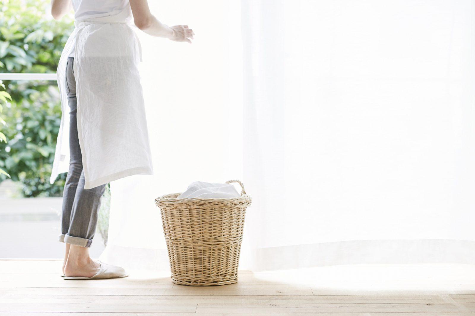 Gardinen Waschen  So Geht's Richtig  Haushaltstipps von Gardinen Waschen Welches Programm Bild