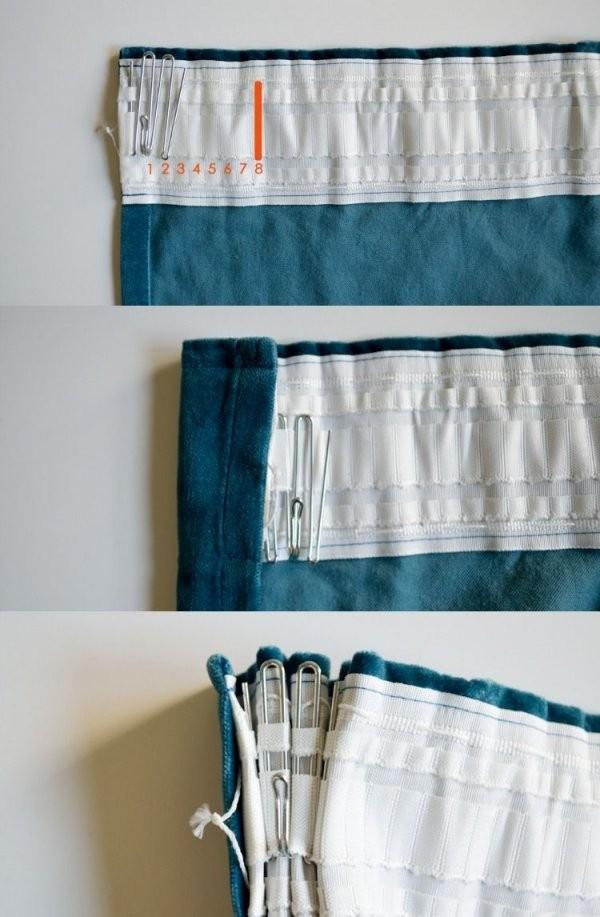 Gardinennahenvorhaengeanleitunganfangerfaltenbandfingerhaken von Gardinen Selber Nähen Faltenband Bild