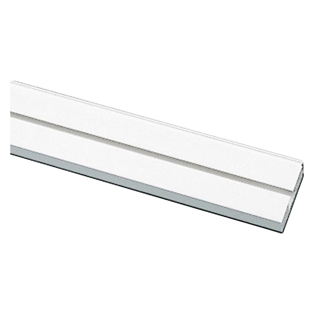 Gardinia Vorhangschiene 1Läufig Ge1 Weiß 300 Cm Kaufen Bei Obi von Alu Gardinenschiene 1 Läufig Bild