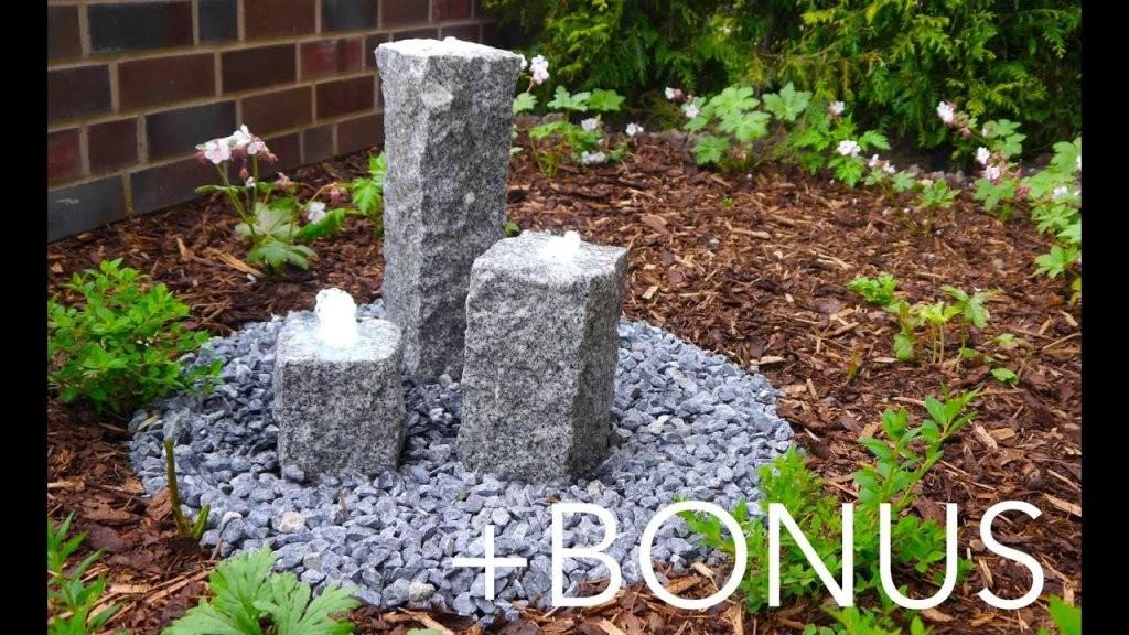 Garten Brunnen  Terrassenbrunnen Bauanleitung + Bonusmaterial von Garten Springbrunnen Selber Bauen Photo