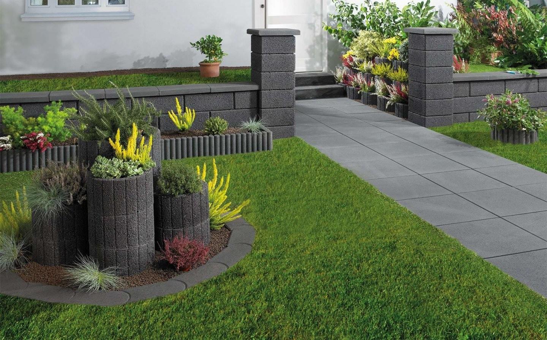 Garten Gestalten Mit Pflanzsteinen Genial Vorgarten Ideen Mit von Garten Gestalten Mit Pflanzsteinen Photo