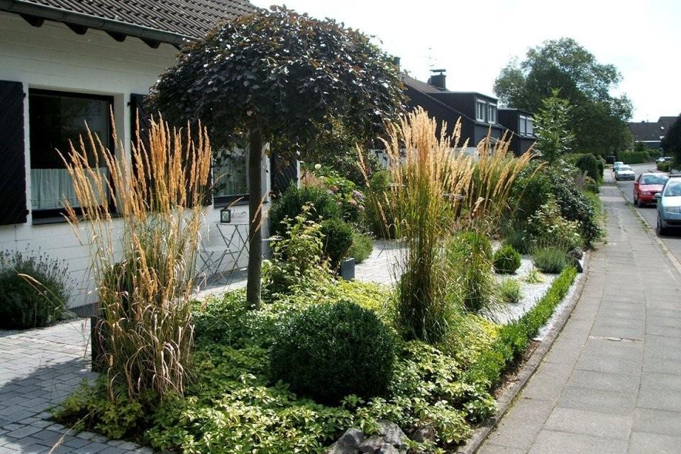 Garten Mit Steinen Anlegen Inspirational Vorgarten Gestalten Kies von Garten Mit Steinen Gestalten Bild