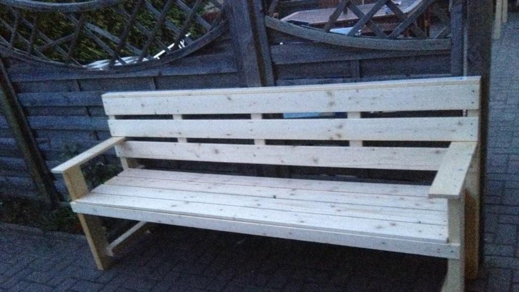 Garten Möbel Selber Bauen Garten Bank Gartentisch Selber von Garten Sitzbank Selber Bauen Photo