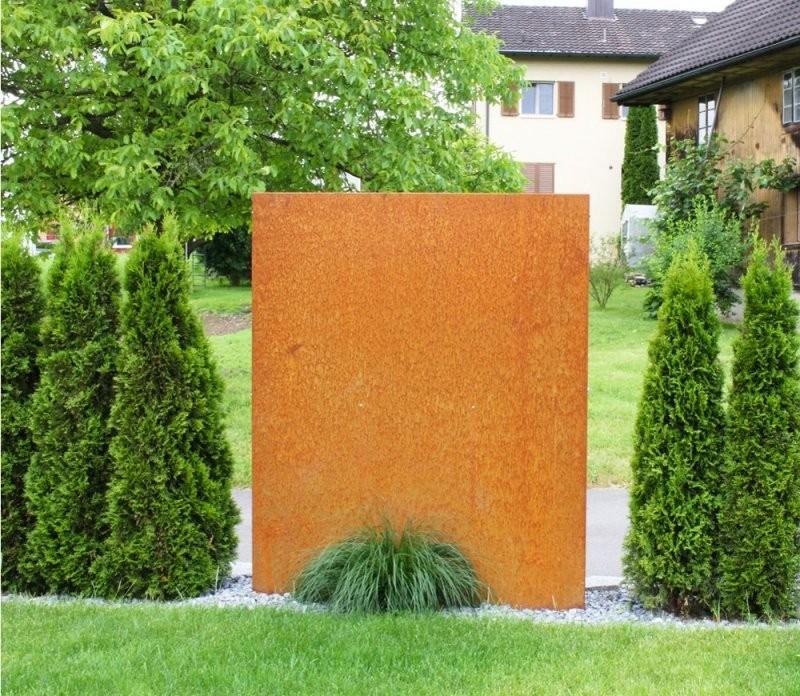 Garten Sichtschutz Metall Tolle Für Sichtschutz Metall Rost Diy von Sichtschutz Garten Metall Rost Bild
