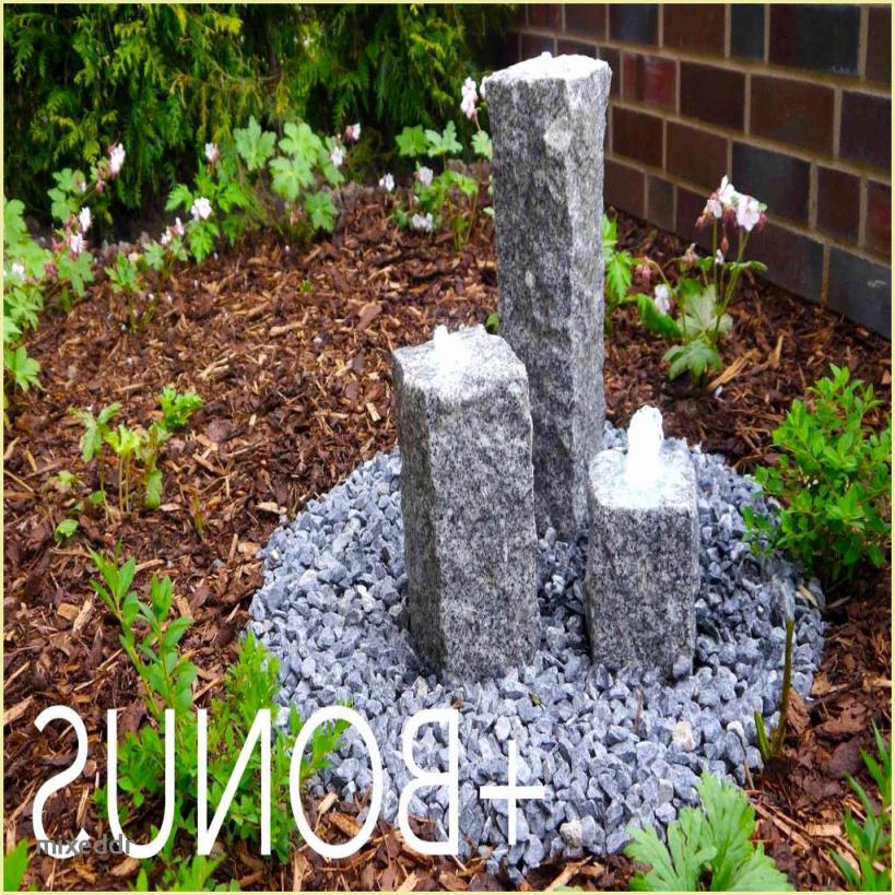 Garten Springbrunnen Selber Bauen Brunnen Garten Stein Inspirierend von Springbrunnen Garten Selber Bauen Photo