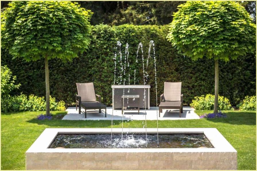 Garten Springbrunnen Selber Bauen Gartenbrunnen Selber Bohren von Springbrunnen Garten Selber Bauen Bild