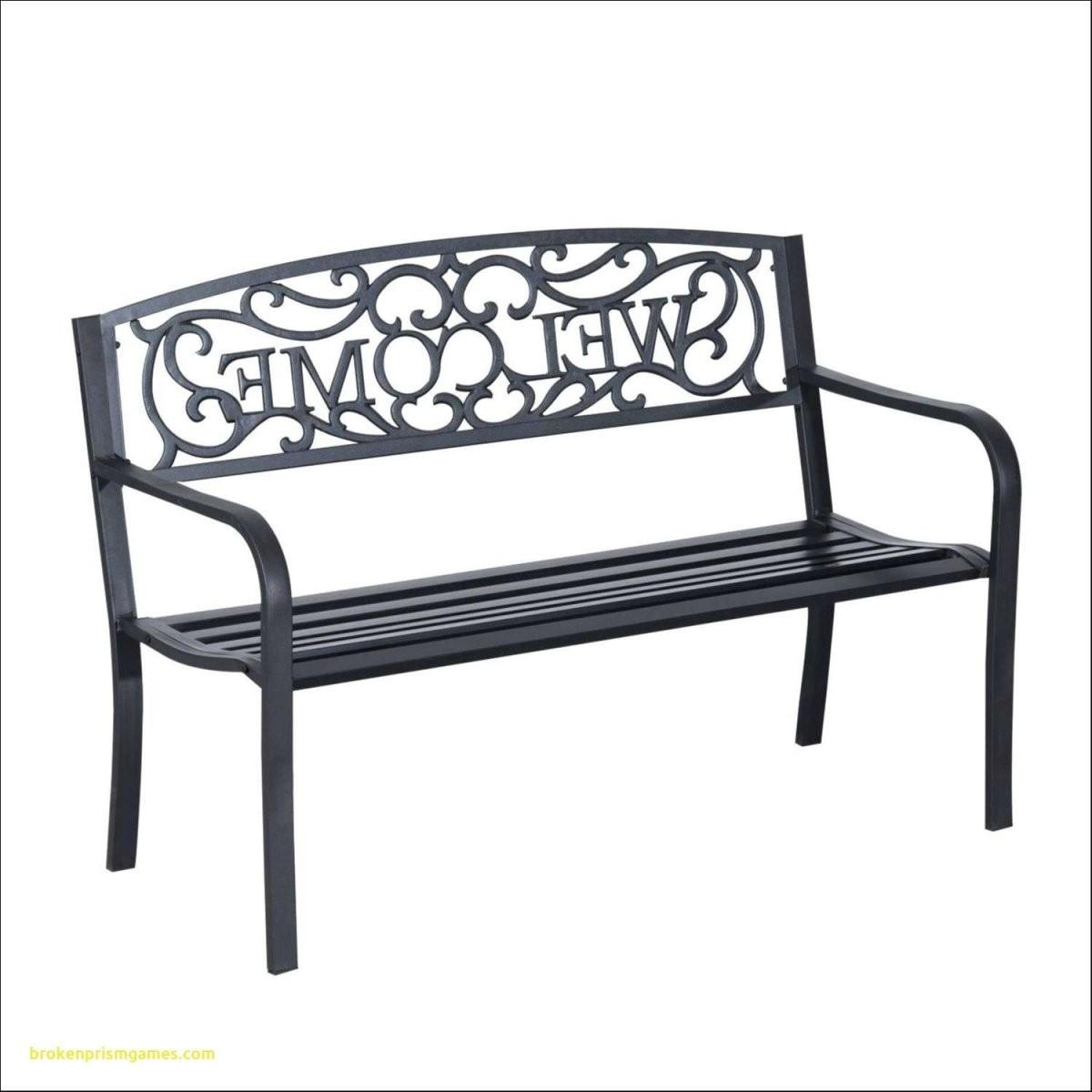 Gartenbank Metall Holz Design Von Gartenbank 3 Sitzer  Komplette von Gartenbank 3 Sitzer Metall Bild