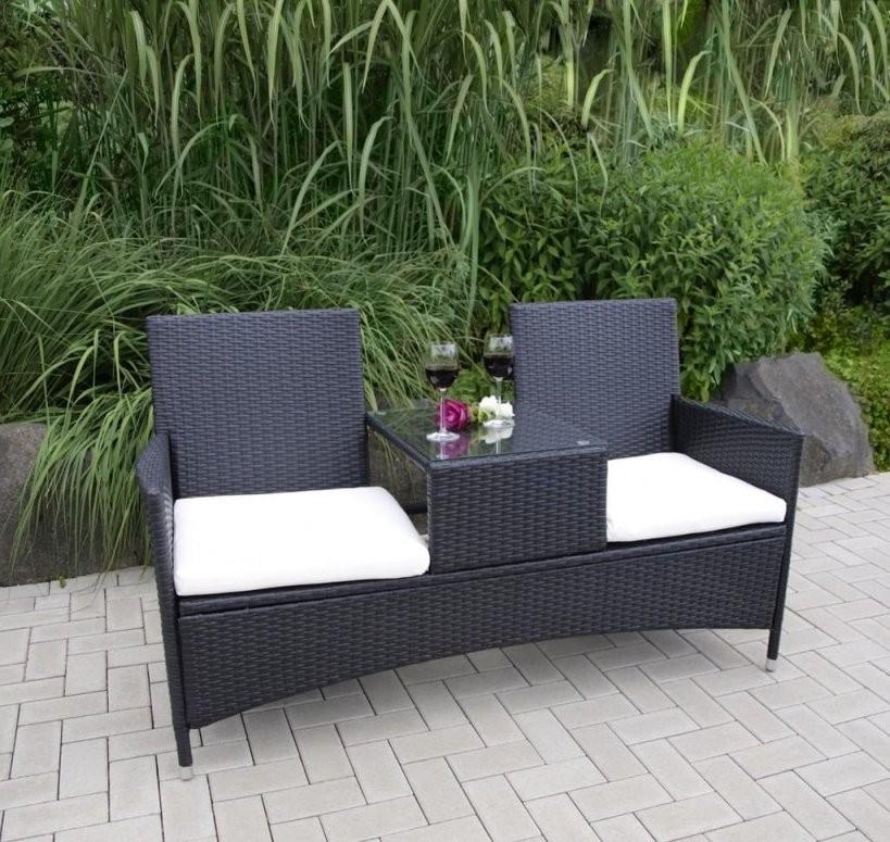 Gartenbank Mit Tisch von Gartenbank Mit Integriertem Tisch Photo