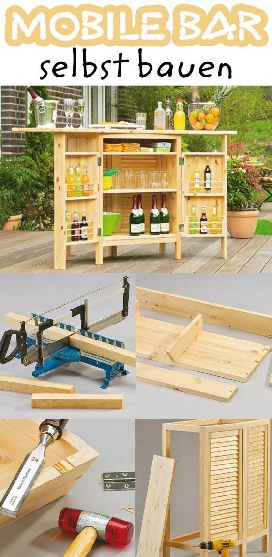 Gartenbar  Home  Gartenbar Bar Selber Bauen Und Mobile Bar von Bar Schrank Selber Bauen Bild