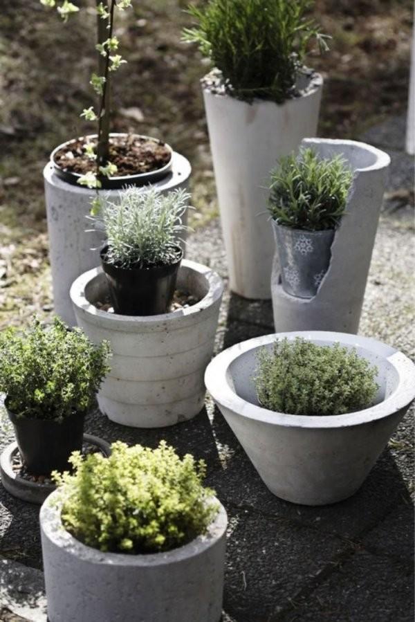 Gartendeko Aus Beton Selber Machen  28 Schöne Ideen von Gartendeko Aus Beton Selbstgemacht Photo