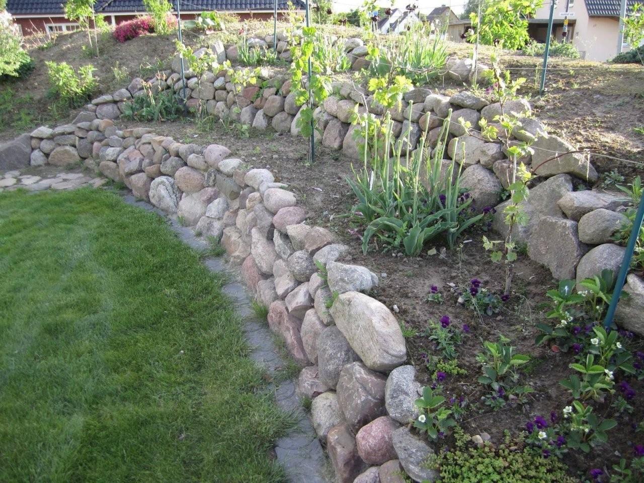 Gartengestaltung Am Hang Mit Steinen Wohnideen Konzept von Gartengestaltung Mit Steinen Am Hang Photo