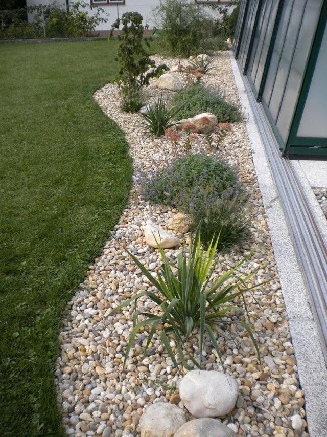 Gartengestaltung Mit Steinen Und Kies Bilder Impressum  Baum Best von Gartengestaltung Mit Kies Bilder Bild