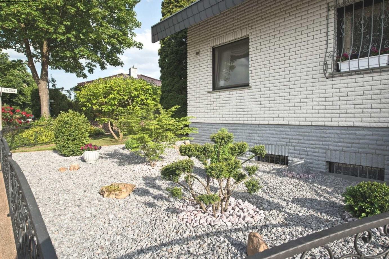 Gartengestaltung Mit Steinen Und Kies Bilder  Wohndesign von Gartengestaltung Mit Kies Bilder Photo