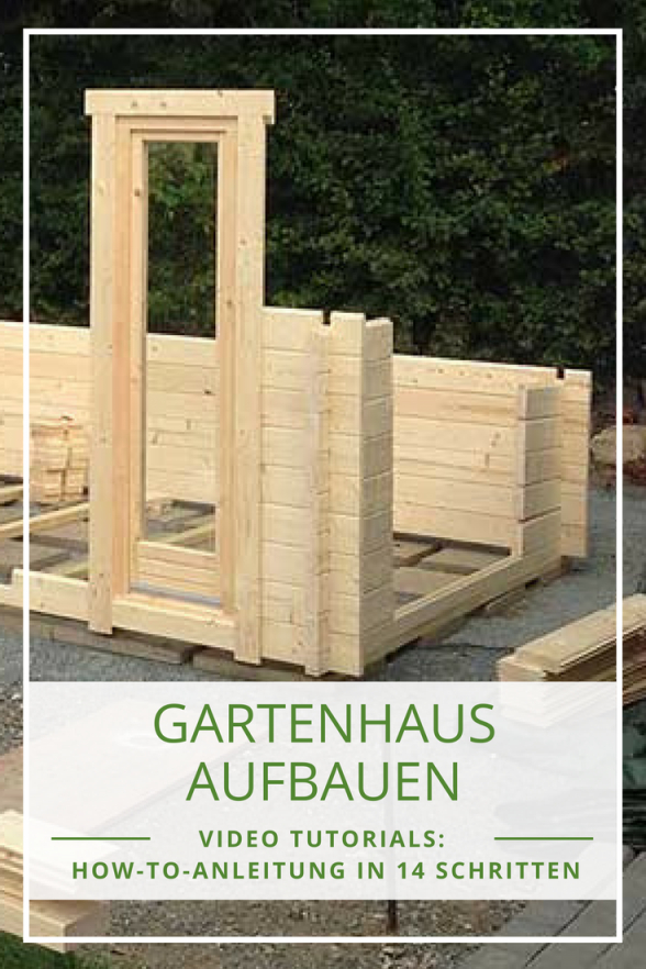 Gartenhaus Ganz Einfach Aufbauen Mit Unseren Videotutorials von Gartenhaus Selber Bauen Video Photo
