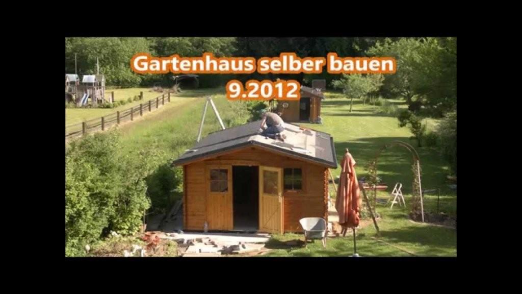 Gartenhaus Selber Bauen + Preis €  Youtube von Gartenhaus Selber Bauen Video Photo