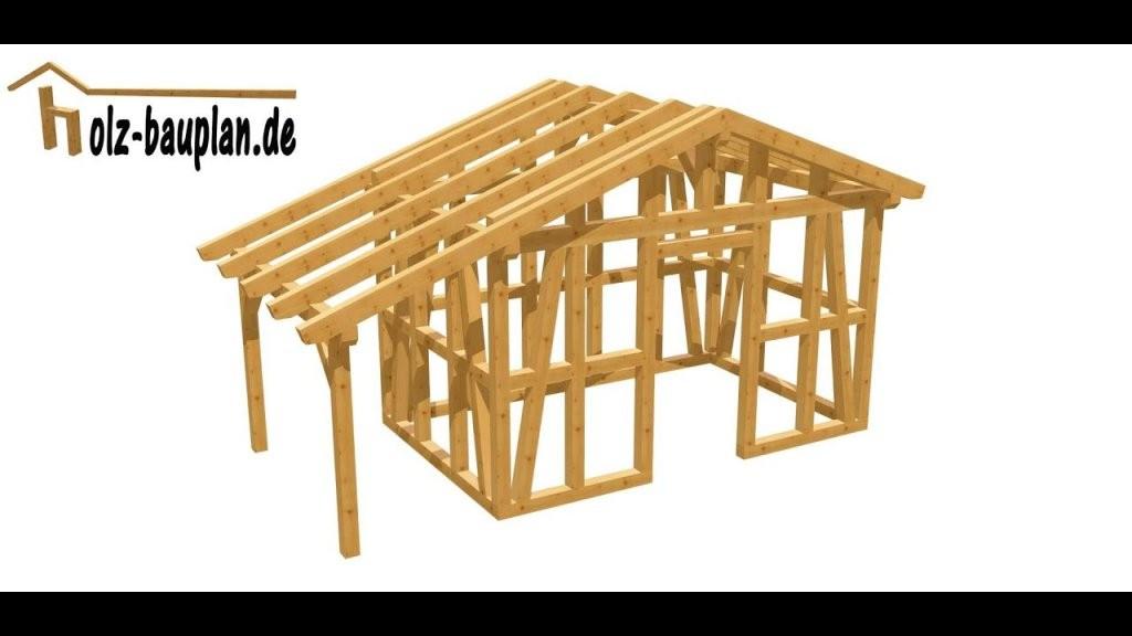 Gartenhaus Selber Bauen  Youtube von Gartenhaus Selber Bauen Video Bild