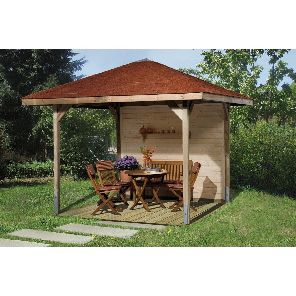 Gartenlauben  Pavillons Kaufen Bei Obi  Obich von Holz Pavillon 6 Eckig Bild