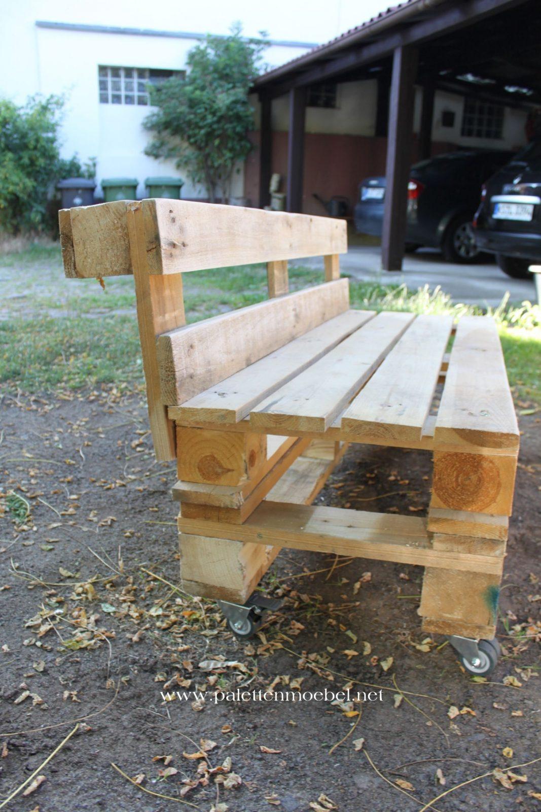Gartenmöbel Aus Paletten Sitzbank 6  Palettenmöbel  Möbel Aus von Esstisch Aus Paletten Selber Bauen Anleitung Photo