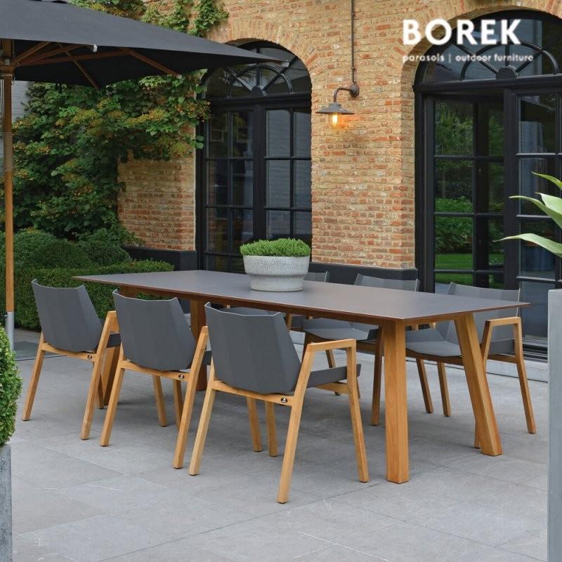 Gartenmöbel Komplettset Chios Kaufen  Gartentraum von Gartentisch Mit 6 Stühlen Photo