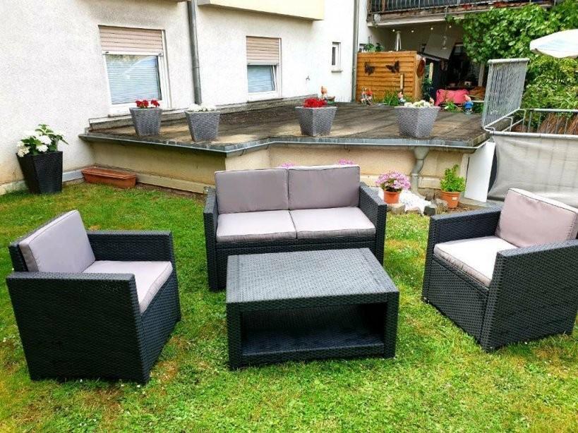 Gartenmobel Rattan Lounge Set Gebraucht Kaufen Nur 2 St Bis 70 von Garten Lounge Set Gebraucht Bild