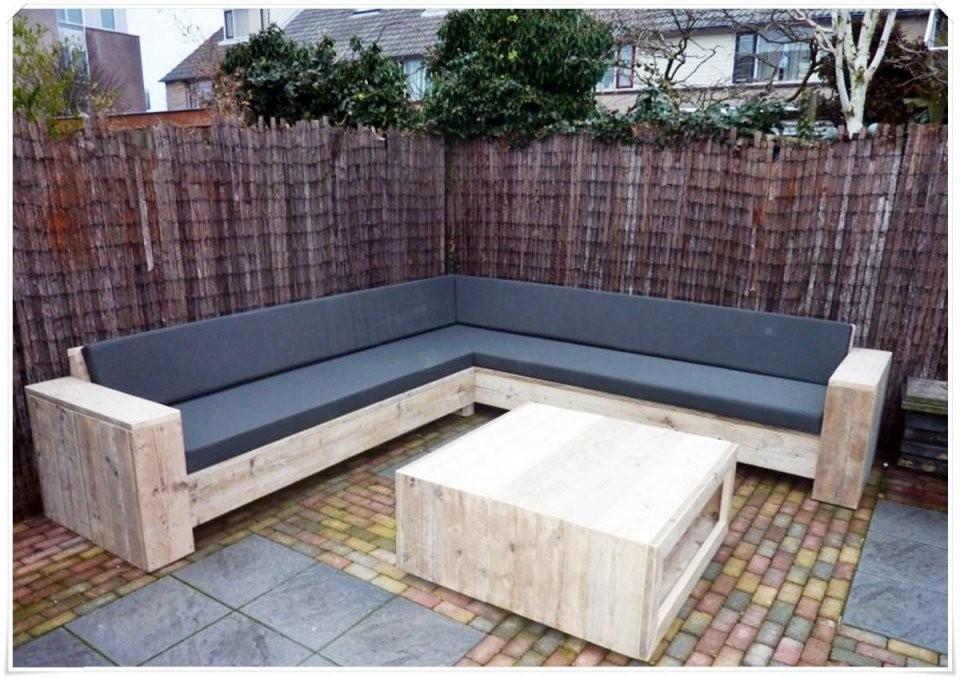 Gartenmöbel Selber Bauen  Mtmyachting von Lounge Gartenmöbel Holz Selber Bauen Bild