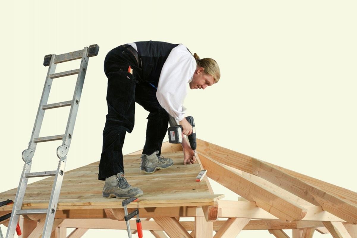 Gartenpavillon Aufbauen Die Aufbauanleitung von Pavillon 8 Eckig Holz Bauanleitung Bild