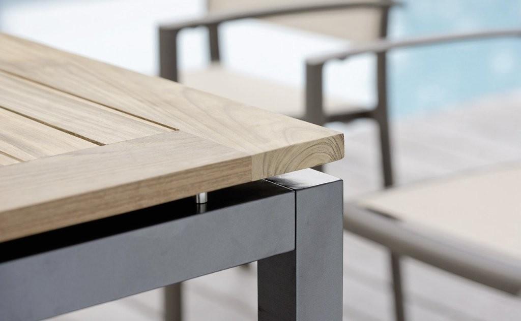 Gartentisch Holz Alu Ausziehbar – Bvrao Planen von Gartentisch Ausziehbar Alu Holz Photo