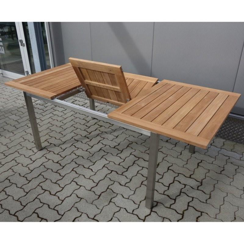Gartentisch Holz Alu Ausziehbar – Denvirdevfo Konzept von Gartentisch Ausziehbar Alu Holz Photo