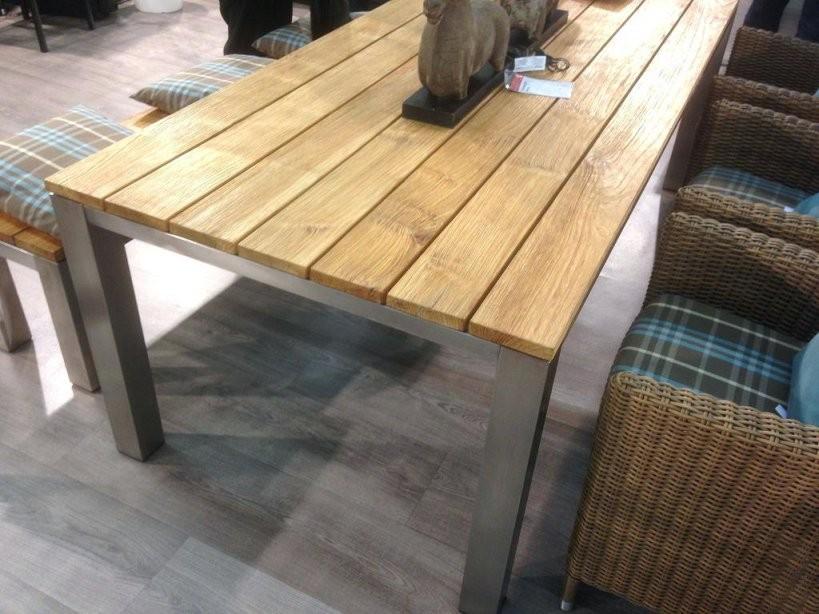 Gartentisch Holz Ausziehbar Top Zum Gartentisch Edelstahl Teak Design von Gartentisch Teak Edelstahl Ausziehbar Photo