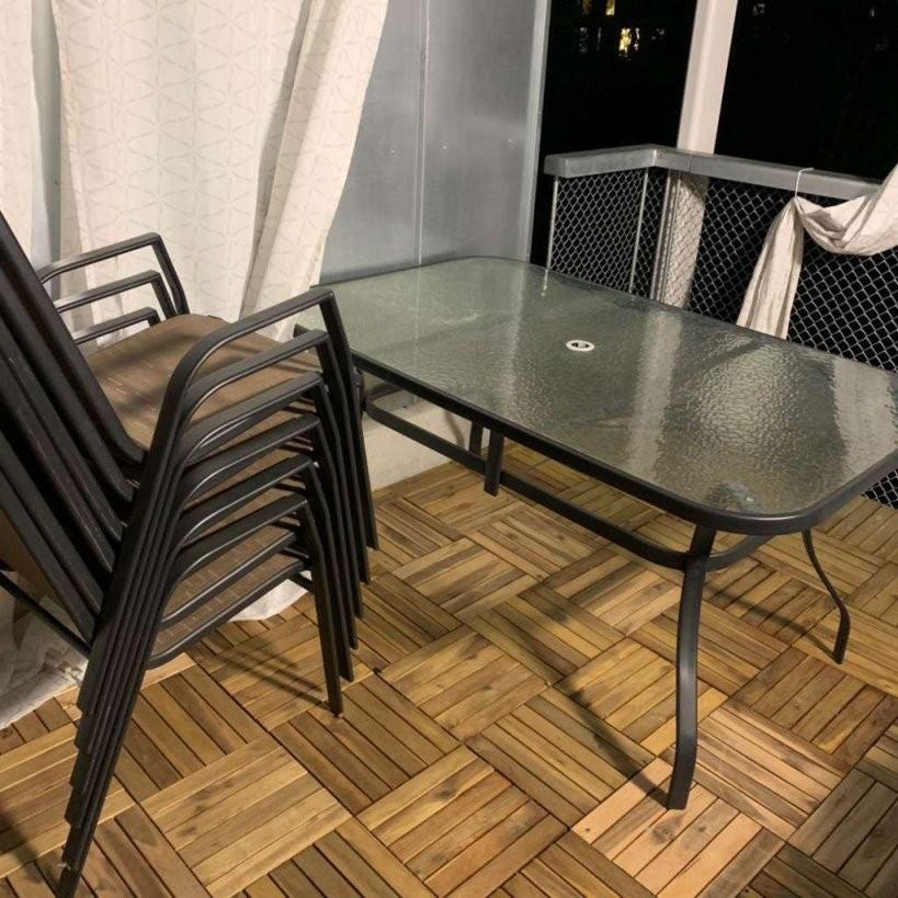 Gartentisch Mit 6 Stühlen