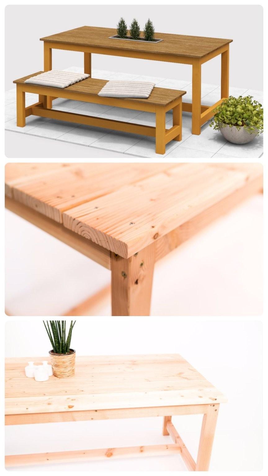 Gartentisch Richard Selber Bauen  Tische In 2019  Obi von Tisch Selber Bauen Obi Bild
