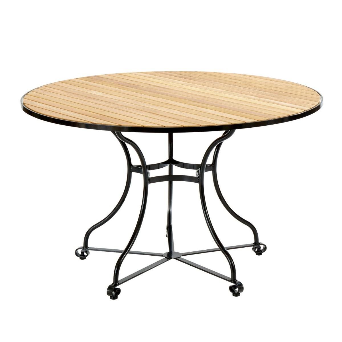 Gartentisch Rund 120 Cm Durchmesser Design von Gartentisch Holz Rund 120 Photo