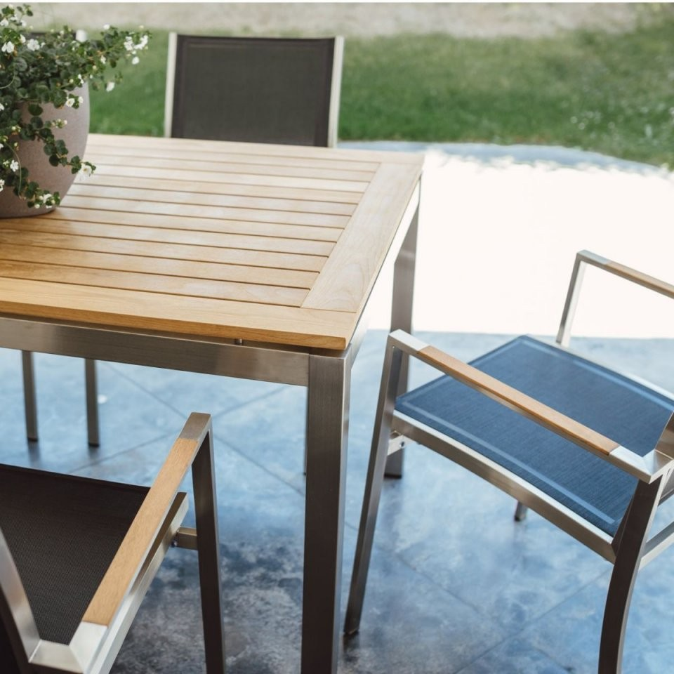 Gartentisch Und Stühle Set von Gartentisch Mit 6 Stühlen Photo